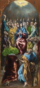 El Greco - Pentecost